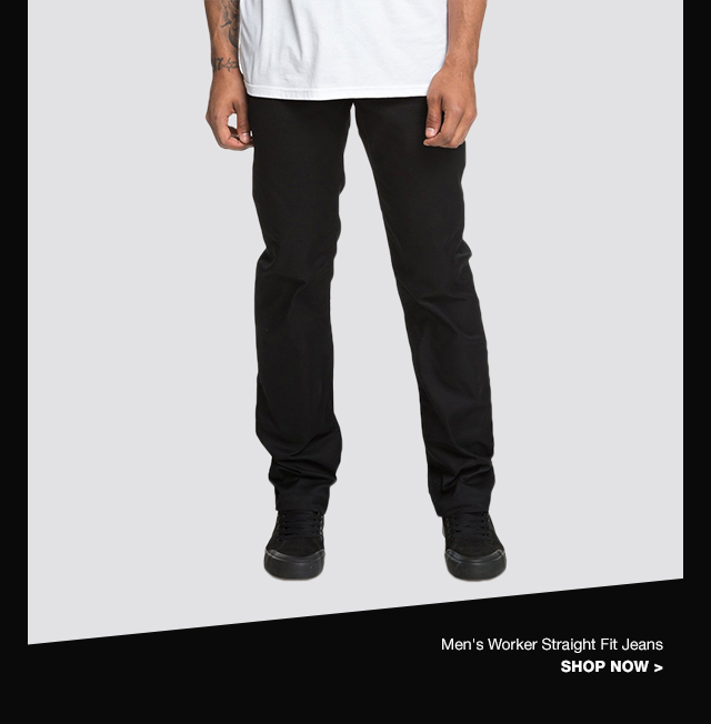 Product 4 - Men's Worker Straight Fit Jeans